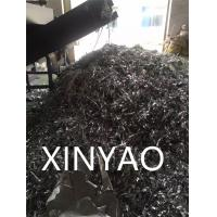 Quality Solid Rotor Removable Hopper Shredder For Plastic , Single Shaft Industrial Plastic Shredder for sale
