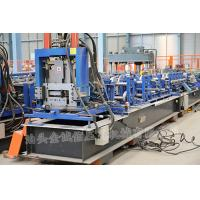 Wholesale 3 Roller Fast Speed CZ Exchange Purlin Roll Forming Machine With Punching from china suppliers