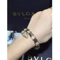 Wholesale Bvlgari half diamond snake Bracelet 18k gold white gold yellow gold rose gold diamond Bracelet from china suppliers