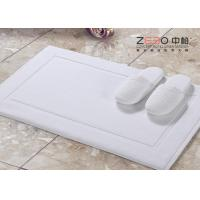 Buy cheap No Smell Hotel Bath Mat Towel , Hotel Collection Bath Mat 800 -1000 GSM from wholesalers