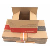 Wholesale C Flute Corrugated Carton Box , Corrugated Gift Boxes Flexo Printing from china suppliers