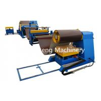 Quality Carbon Steel 1 - 4mm Thickness Decoiling And Straightening Machine 1 Year Warranty for sale