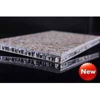 Wholesale Aluminum stone honey-comb sandwich plate from china suppliers