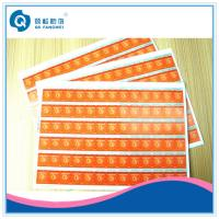 Wholesale Self Adhesive Scratch Off Stickers , Matte Tamper Proof Security Labels from china suppliers
