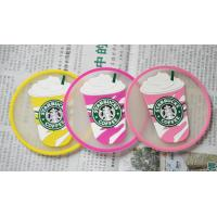 Wholesale Custom Transparent ice cream PVC cup mat from china suppliers