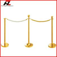 Wholesale Titanium Gold Hotel Crowd Barriers-Barrier Control from china suppliers