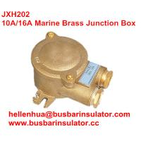 Wholesale 10A 16A high voltage metal marine JXH201 waterproof   ip65 brass junction box from china suppliers