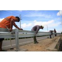 China Full Automatic Control Highway Fence 2 Waves Guardrail Cold Roll Forming Machinery For Safety Protecting on sale