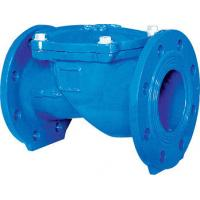 Wholesale 1.5 Inch Rubber Disc Water Supply Ductile Iron Check Valve Swing BS EN12334 PN10 from china suppliers