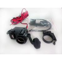 Wholesale 5V USB 12V Motorcycle USB Charger Power Port Socket Cable from china suppliers