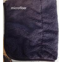 Wholesale Microfiber 300gsm 150cm Width Black Durable Piping Good-looking Sports Cleaning Towel from china suppliers