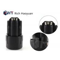 Quality Lithium Ion Rechargeable Bosch Cordless Drill Battery 10.8V 1.5Ah For Bosch BAT411 for sale