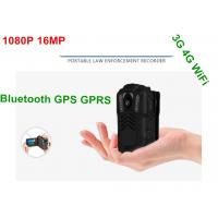Buy cheap Battery Operated HD Wifi Body Camera , Police Personal Body Video Camera from wholesalers