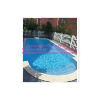 Wholesale Above Ground Automatic Pool Cover Project Transparent Blue Color With Motor Roller from china suppliers