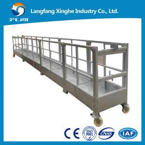 Wholesale 800kg hot galvanized suspended platform / working platform / gondola working platform from china suppliers