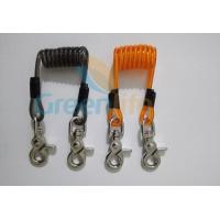 Wholesale High Quality Short Coiled Tool Lanyard w/Heavy Duty Snap Hooks Steel/Plastic Coard Inside Available from china suppliers