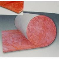 Quality pink roofing glass wool rolls thermal insulation materials for sale