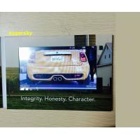 "Wholesale 4.3"" Lcd Invitation Video Card / Video Brochure Module , Glossy Hard Lamination Paper from china suppliers"