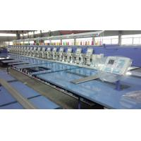 Wholesale Multi Head Embroidery Machine , Industrial Embroidery Sewing Machine With USB Port from china suppliers