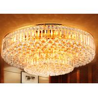 Wholesale Contemporary 2 Layers Crystal Ceiling Lights Remote Control 110-130V from china suppliers
