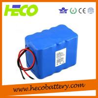 Buy cheap Customized 15V 20AH Lithium Battery Module, Battery Size 130*115*155mm from wholesalers