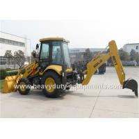 Wholesale SDLG B877 8.4 Tons Backhoe Loader Machinery For Road Construction 0.18M3 Digger Bucket from china suppliers