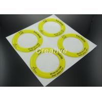 Wholesale Non Yellow Polyurethane Resin Dome Stickers With White Vinyl Substrate from china suppliers