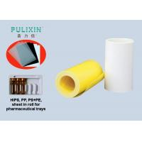 Wholesale Rigid Compound HIPS Polyethylene Sheet Roll , Colored Plastic Sheeting Rolls from china suppliers