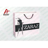 Wholesale Pretty Custom Paper Shopping Bags With LOGO And Black PP Rope from china suppliers