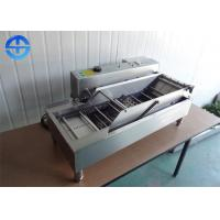 Wholesale Double Row Automatic Donut Making Machine , Electric Deep Fryer Machine from china suppliers