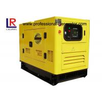 Wholesale 3 cylinder 15 KVA Super Silent Diesel Generator with Copy Stamford 164C Engine from china suppliers