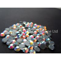 Buy cheap ss20 crystal ab color stone hot fix rhinestone heat transfer strass from wholesalers