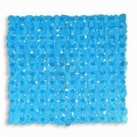 Wholesale 54 x 54cm Bath Mat, Made of PVC, Available in Blue from china suppliers