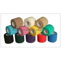 Quality Cohesive Bandage, High tensile Colored Elastic Non - Woven Hand Tearable for sale