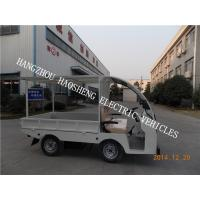 Wholesale No Pollution Flatbed Delivery Truck Flexible Steering 36V Battery Voltage from china suppliers