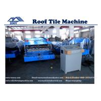 Wholesale Roof Tile Roll Forming Machine Panasonis PLC Control from china suppliers