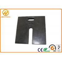 "Wholesale Durable Recycled Black Rubber Sign Pedestal Base Heavy Duty 18"" X 18"" X 2"" Size from china suppliers"