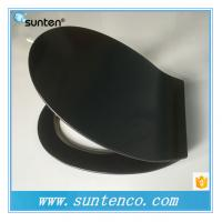 Buy cheap 2016 Urea Material White Ultra Slim Oval Black Toilet Seat Covers from wholesalers