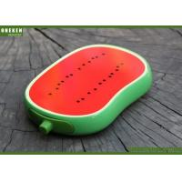 Wholesale OEM / ODM Fresh Watermelon Fruit Power Bank , 4000mAh Quick Charge Powerbank from china suppliers