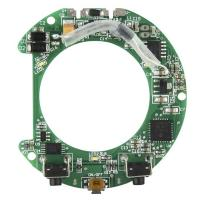 Wholesale PCBA SMT Assembly Round Circuit Board Design With Water Soluble Solder Paste from china suppliers