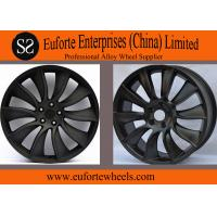 Wholesale Black Aluminum Alloy Nissan Replica Wheels For Infiniti FX 35 , 21 inch wheels from china suppliers