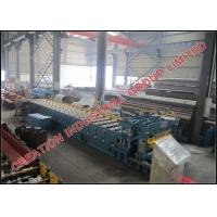 Wholesale Color Prepainted or Galvanised Steel Glazed Roofing Tiles Sheet Cold Roll Forming Machine with Automatic Cr12 Cutter from china suppliers