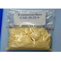 Wholesale Purity 99% Testosterone Base CAS 58-22-0 Natural Steroid Based Hormones For Bodybuilding Test Base from china suppliers