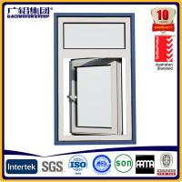 Wholesale aluminium casement window opening outside from china suppliers