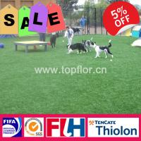 Buy cheap Decorative artificial garden grass for landscaping from wholesalers