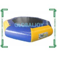 Wholesale Inflatable PVC tarpaulin Water Trampoline / Floating Air Jumping Trampoline from china suppliers