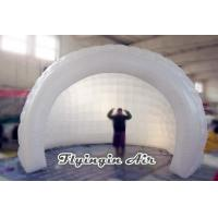 Buy cheap White Inflatable Spiral Meeting Room Air Shell Tent for Conference from wholesalers