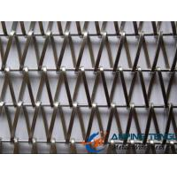 Wholesale Spiral Weave Mesh, Flat Spiral Wire + Straight Rod Type, For Curtain from china suppliers