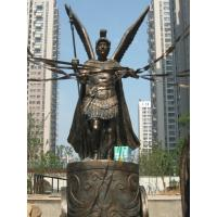 Wholesale Brave soldier bronze sculpture in Plaza from china suppliers