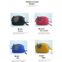 Quality Charming Embroidered small messenger bag unique design with factory price bag for women for sale